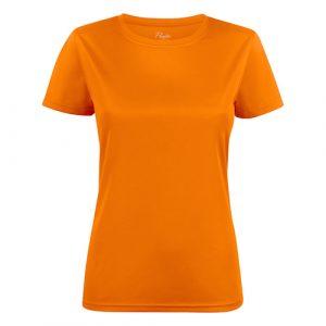 Printer_run_shirt_dames_oranje