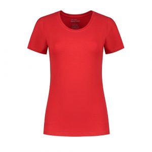 Santino_Jive_T-shirt_Dames_Rood