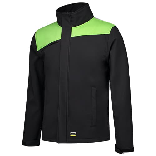 Tricorp_bicolor_softshell_blacklime
