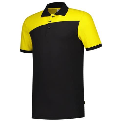 Tricorp_naden_polo_zwart_geel
