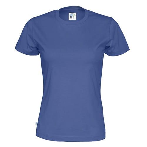 Cottover_duurzaam_duurzaamheid_werkkleding_promotioneel_tshirt_dames_blauw