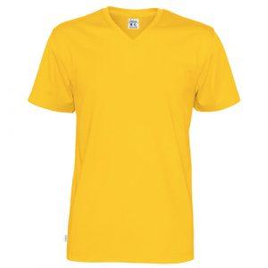 Cottover_duurzaam_duurzaamheid_werkkleding_promotioneel_tshirt_man_geel