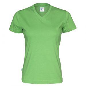 Cottover_duurzaam_duurzaamheid_werkkleding_promotioneel_tshirt_dames_groen